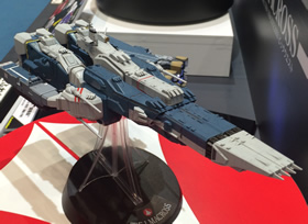 1/4000 SDF-1 Macross Cruiser Fortress w/ Prometheus and Daedalus