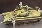 35MAX Military Modern Russia Tanker Set