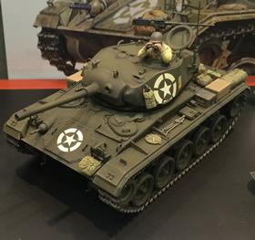 1/35 U.S. Light Tank M24 Chaffee