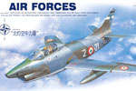 1/72 Fiat G.91 R Nato Air Forces