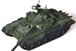 1/72 T-72B3 Main Battle Tank 2013 Ukrainian War w/ Command Shield