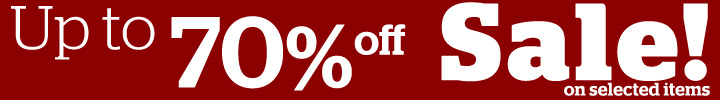 Up to 70% off!