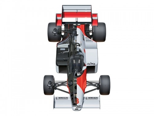 1/20 McLaren MP4/2 1984 British Grand Prix