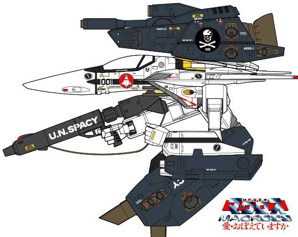 VF-1S/A Strike Super Gerwalk Valkyrie