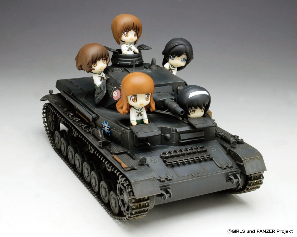 1/35 Panzer IV Type D Ankou Team With Petit Ankou Team Limited Edition