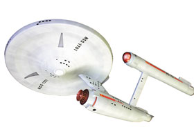 1/650 Star Trek NCC-1701U.S.S Enterprise (50th Anniversary Edition)