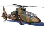 1/72 JGSDF Observation Helicopter OH-1 Ninja