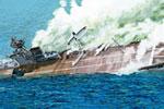 1/700 British Aircraft Carrier HMS Hermes Indian Ocean Raid