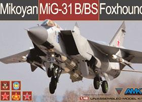 1/48 Mikoyan Mig-31B/BS Foxhound