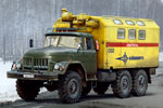 1/35 ZiL-131 Emergency Truck Soviet Vehicle
