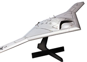1/72 USN unmanned bomber X-47B Flight Type (w/Stand)