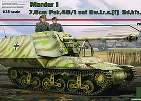 1/35 Marder I 7.5cm Pak.40/1 auf Gw.Lr.s.(f) Sd.kfz.135