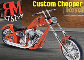 1/12 Custom Chopper Set