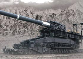 1/35 WWII German Dora 80cm Super Heavy Railway Gun