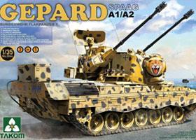 1/35 Gepard SPAAG A1/A2 2 in 1